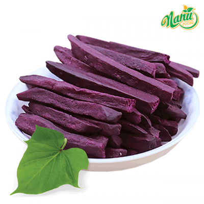Dried purple sweet potato