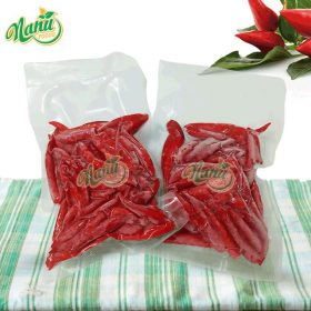 Frozen red hot chili