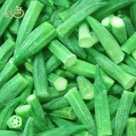 Frozen okra