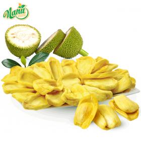 Dried jackfruit chips