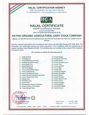 Chứng nhận Halal (Jakim)