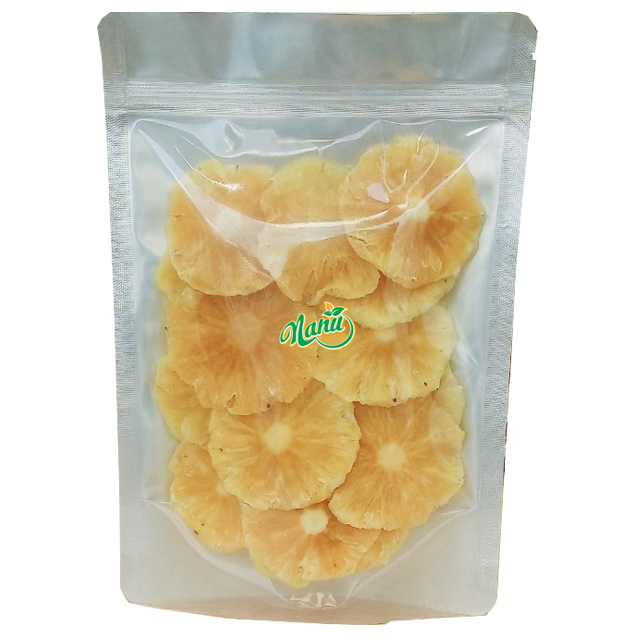 Soft dried pineapple