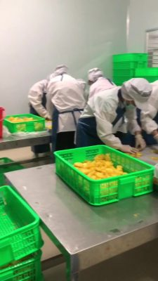 Pineapple Processing room